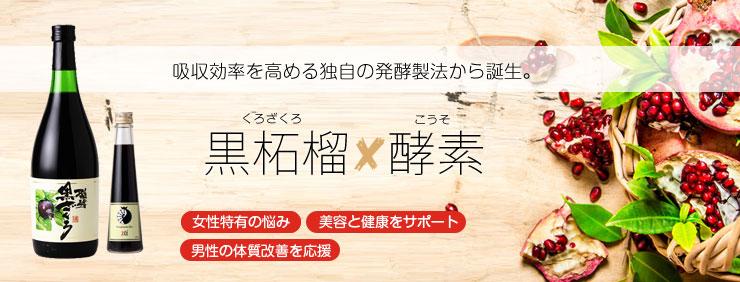 発酵黒ザクロジュース width=